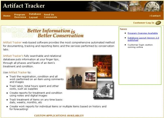 artifacttracker